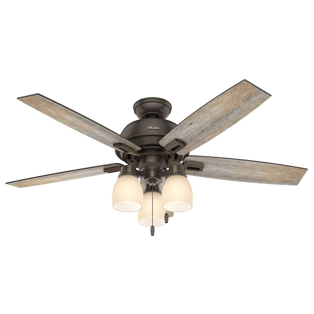 Hunter 53336 Donegan 52 Inch 3 Led Light Ceiling Fan In