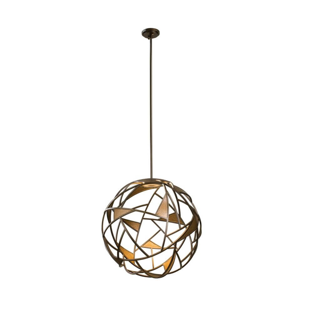 Kalco Lighting 507351BZG Neptune LED Light Pendant In