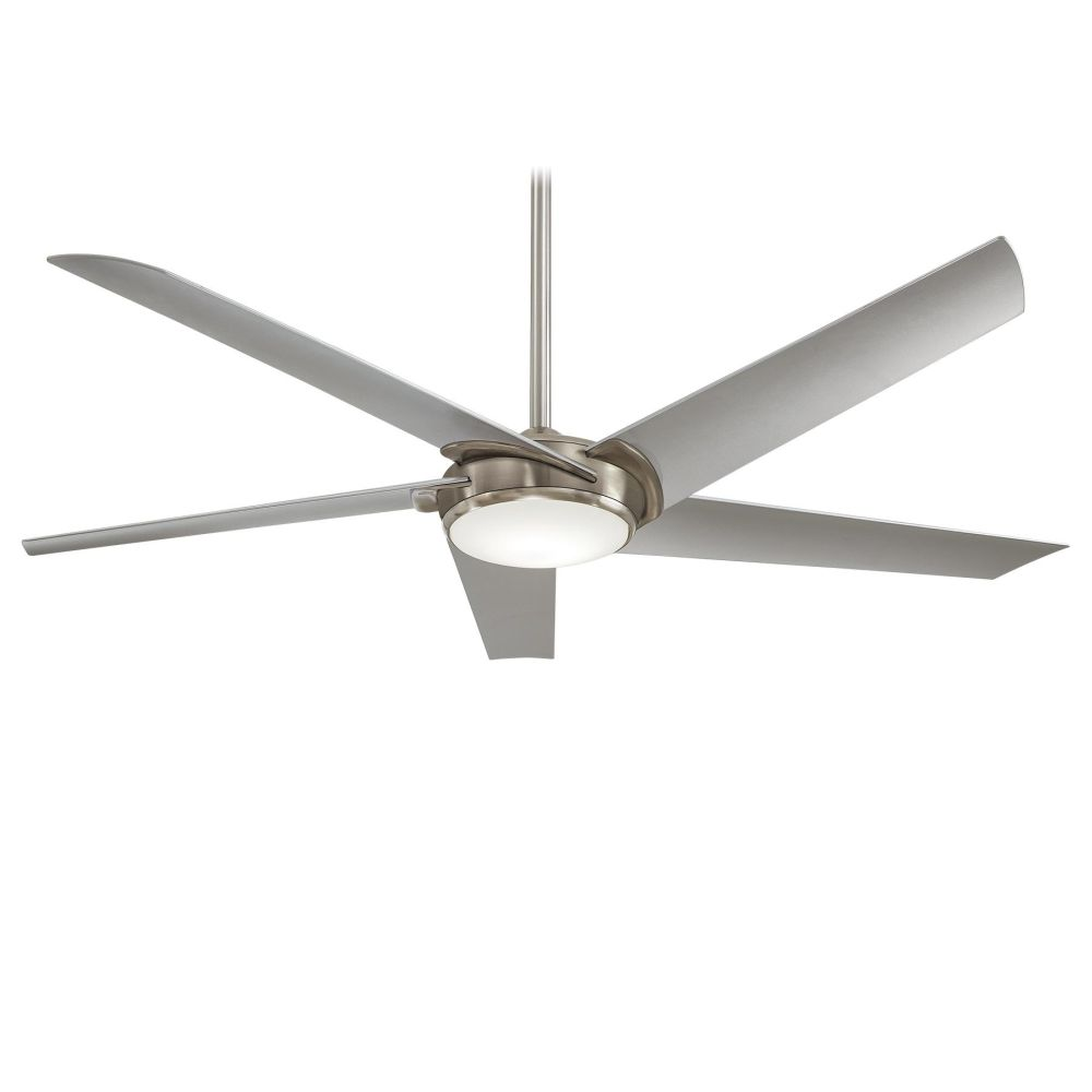 Minka Aire F617L BN Raptor 1 LED Light 60 Inch Ceiling Fan