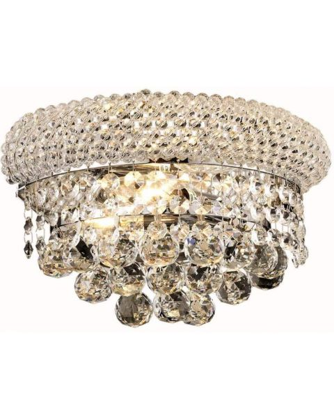 French Empire Crystal Fixture Transitional
