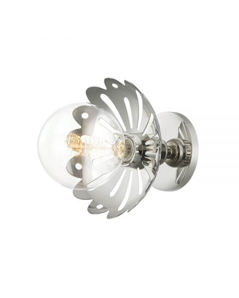 Mitzi By Hudson Valley H353101-PN Alyssa 1 Light Wall Sconce in Polished Nickel