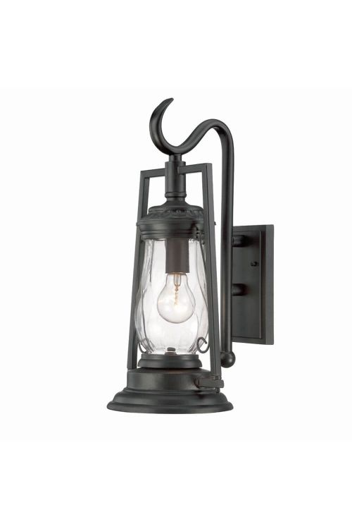 Acclaim Lighting 3492BK Kero 1 Light 19 Inch Tall Outdoor Wall Mount In Matte Black