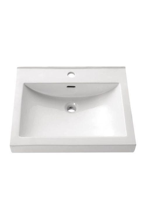Avanity CVE550RE 21.7 Inch Rectangular Vitreous China Semi Recessed Sink In White