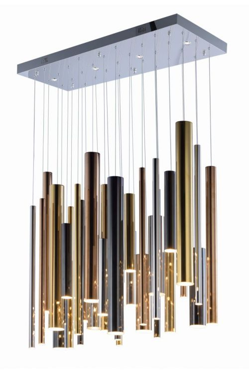 ET2 Lighting E10017-MPLT Flute 36 Inch Linear Pendant