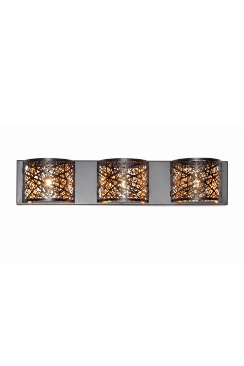 ET2 lighting E21316 Inca 3 Light Bath Wall Mount