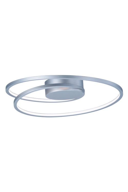 ET2 lighting E21320-MS Cycle 18 Inch LED Flush Mount In Matte Silver