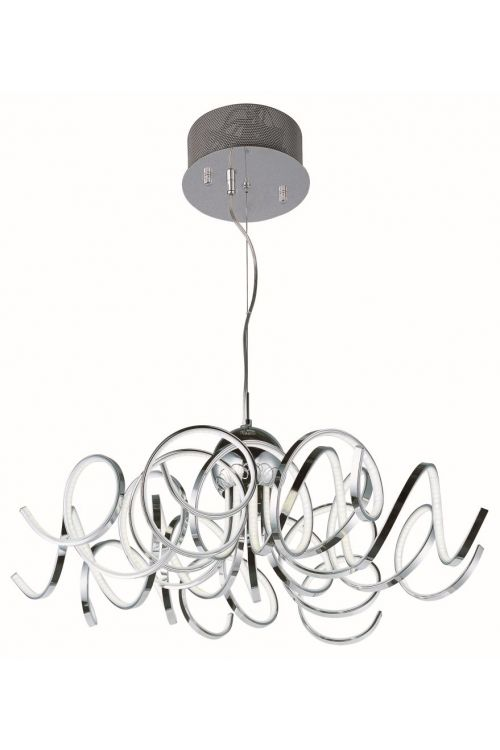 ET2 Lighting E21415-PC Chaos 34 Inch LED Pendant In Polished Chrome