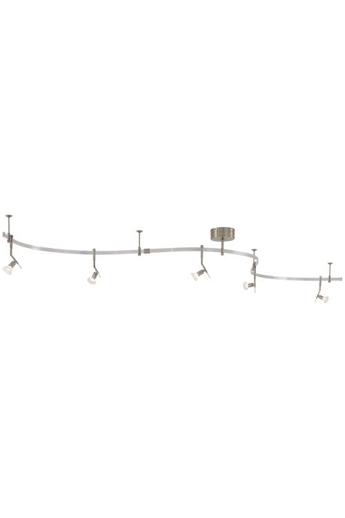 George Kovacs P4035-084 Gk Lightrail 5 Track Light In Brushed Nickel