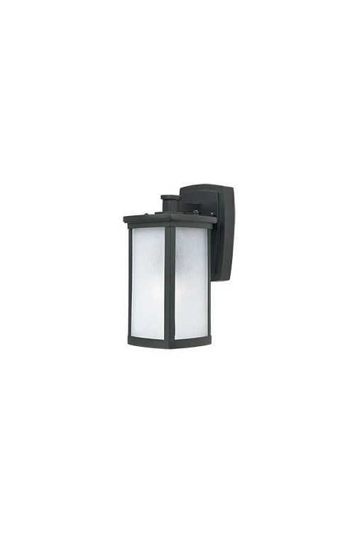 Maxim Lighting 3252FSBZ Terrace 1 Light Outdoor Wall Mount In Bronze with Frosted Seedy Glass