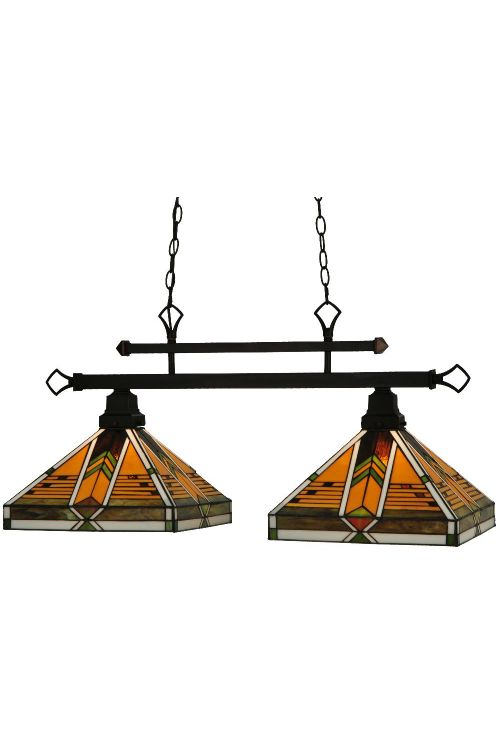 Meyda Tiffany 130752 Abilene 2 Billiard / Island Lighting