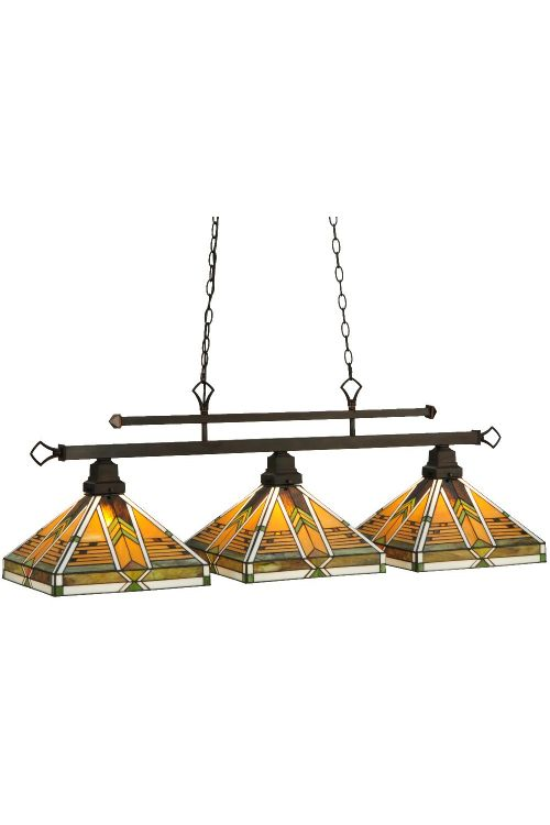 Meyda Tiffany 130753 Abilene 3 Billiard / Island Lighting