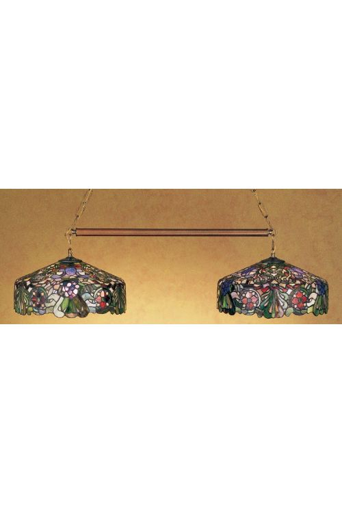 Meyda Tiffany 28517 Duffner and Kimberly Italian Renaissance 2 Billiard-Island Lighting