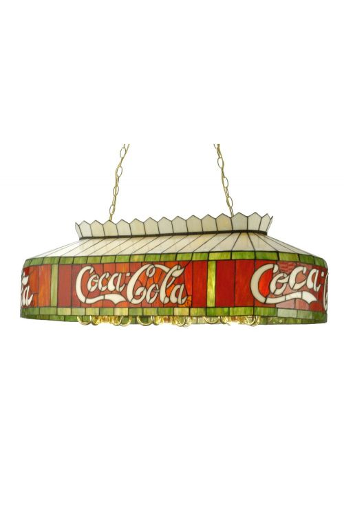 Meyda Tiffany 29287 Coca-Cola Oblong Billiard / Island Lighting