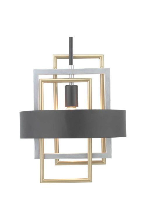 Progress Lighting P500173-031 Adagio 1 Light Mini Pendant in Black