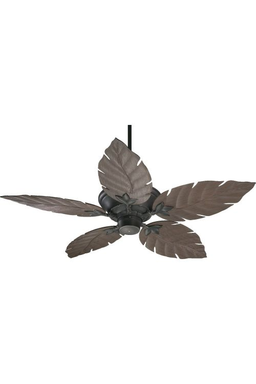 Quorum International 135525 Monaco 52 Inch 5 Blade Patio Outdoor Ceiling Fan