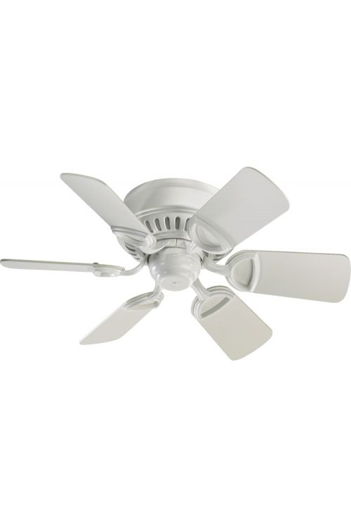 Quorum International 51306-8 Medallion 30 Inch 6 Blade Fan In Studio White