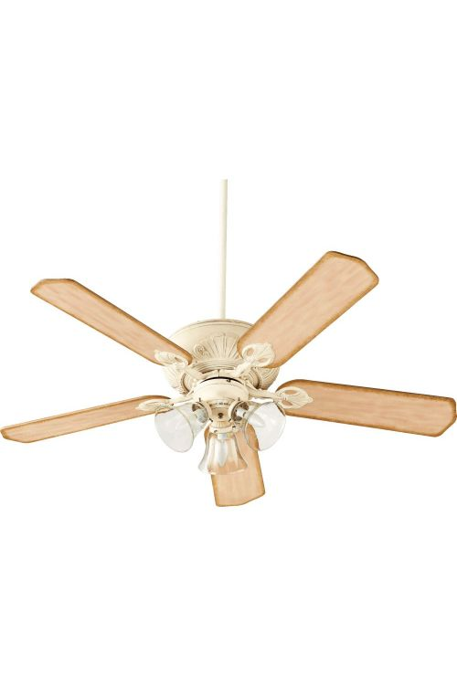 Quorum International 78525-1970 Chateaux Uni Pack 52 Inch Seed Fan In Persian White