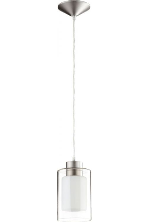 Quorum International 882-165 1 Light Mini Pendant In Satin Nickel