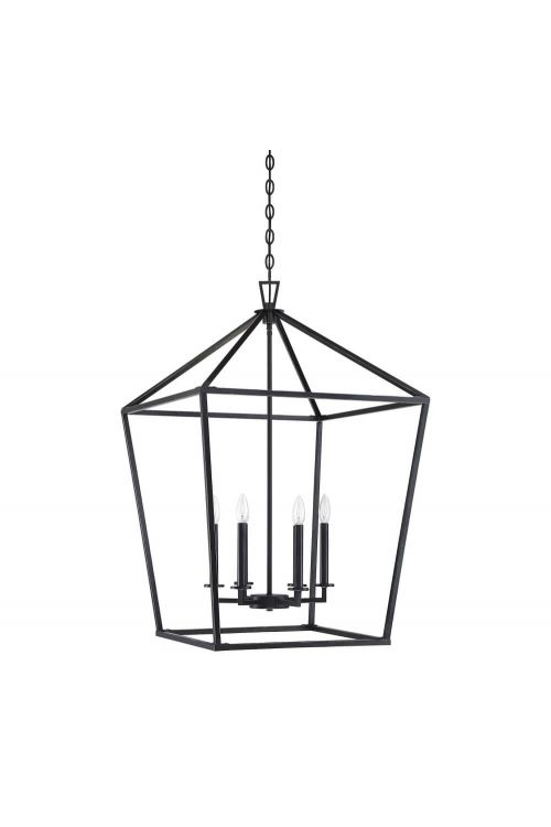 Savoy House 3-322-6-44 Townsend 6 Light 24 Inch Foyer Pendant in Classic Bronze