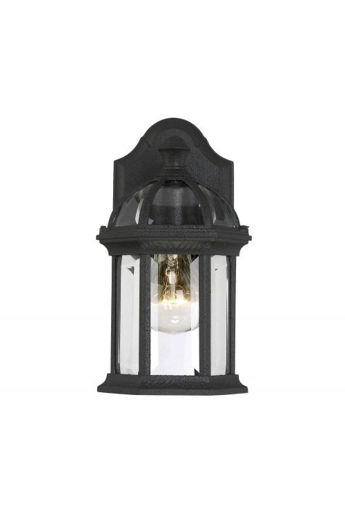 Savoy House 5-0629-BK Kensington 1 Light 11 Inch Tall Outdoor Wall Mount Lantern In Textured Black