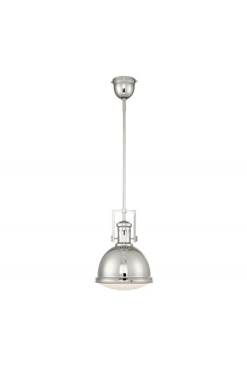 Savoy House 7-730-1-109 Chival 1 Light 11 Inch Pendant In Polished Nickel