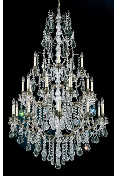 Schonbek 5782 Bordeaux 25 Light Chandelier