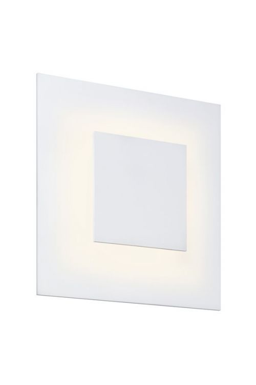 Sonneman 2368.98 Center Eclipse LED Wall Sconce In Textured White With Textured White Shade