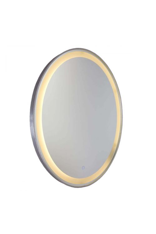Artcraft AM300 Reflections 1 Light LED Mirror in Brushed Aluminum