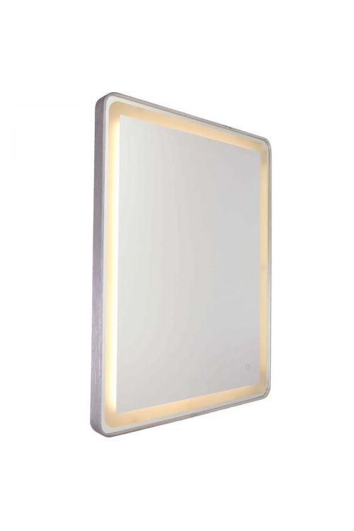 Artcraft AM301 Reflections 1 Light LED Mirror in Brushed Aluminum