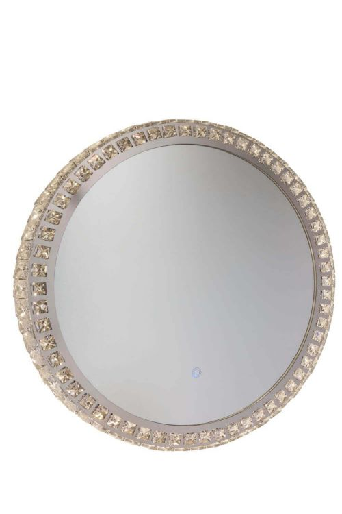 Artcraft AM302 Reflections 1 Light LED Mirror in Crystal