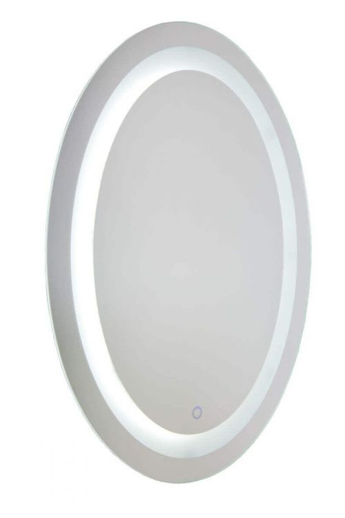 Artcraft AM303 Reflections 1 Light LED Mirror in Brushed Aluminum