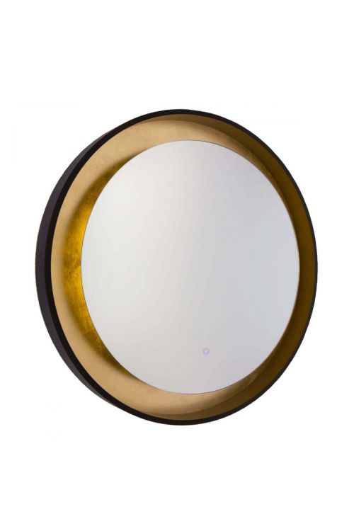 Artcraft AM304 Reflections 1 Light LED Mirror in Oil Rubbed Bronze-Gold Leaf