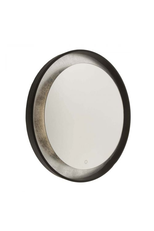 Artcraft AM305 Reflections 1 Light LED Mirror in Oil Rubbed Bronze-Silver Leaf