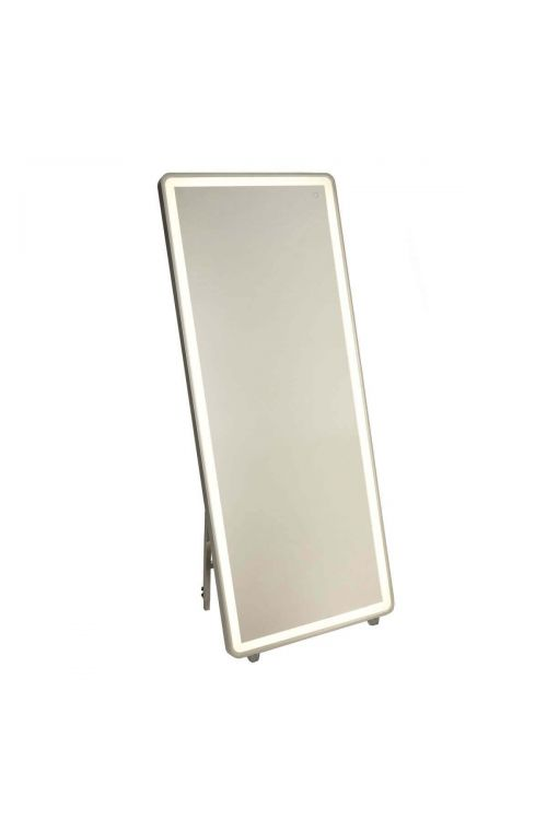 Artcraft AM311 Reflections 1 Light LED Mirror in Brushed Aluminum