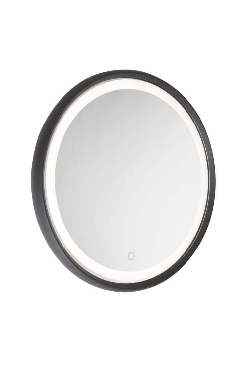 Artcraft AM316 Reflections 1 Light LED Mirror in Matte Black