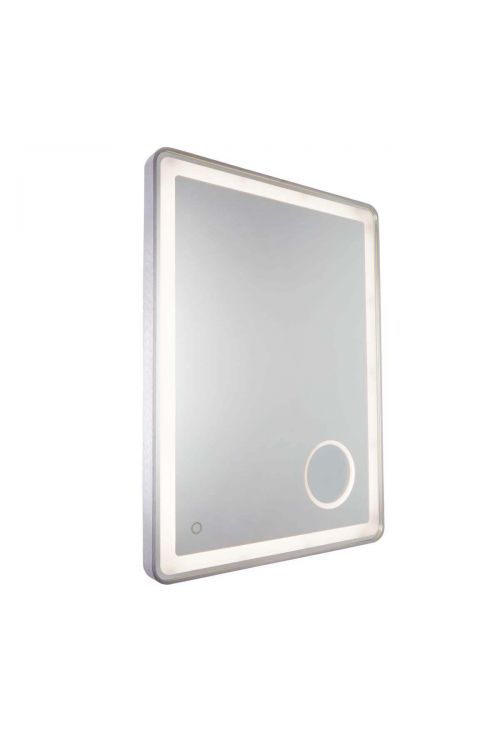 Artcraft AM317 Reflections 1 Light LED Mirror in Brushed Grey
