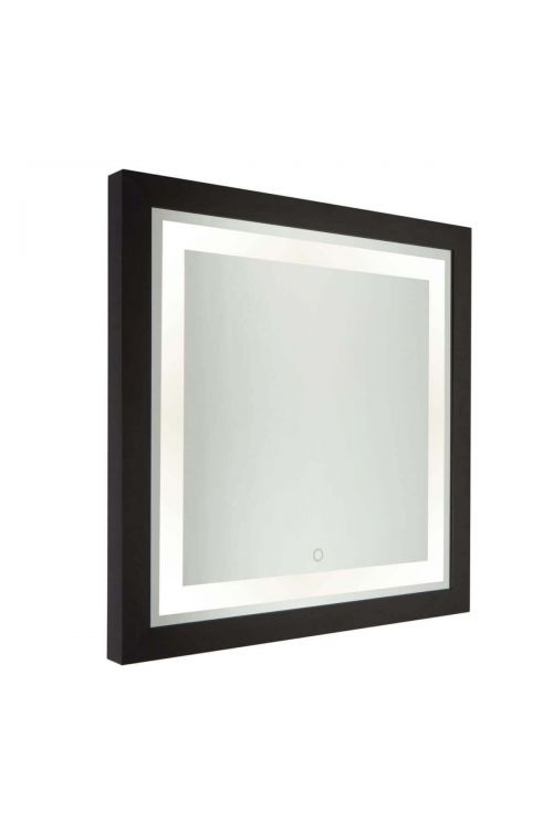 Artcraft SC13109 Valet 1 Light LED Mirror in Matte Black