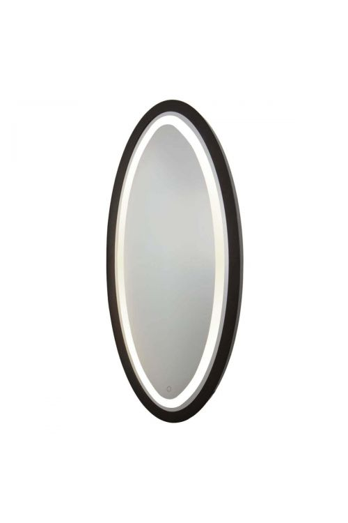 Artcraft SC13110 Valet 1 Light LED Mirror in Matte Black