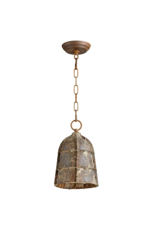 Cyan Design 06260 Small Rusto 1 Light Pendant In Rustic
