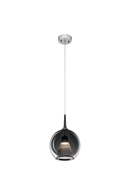 Elan 84021 Zin LED Pendant in Chrome