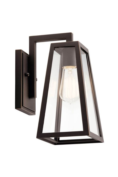 Outdoor Wall Sconce in Rubbed Bronze