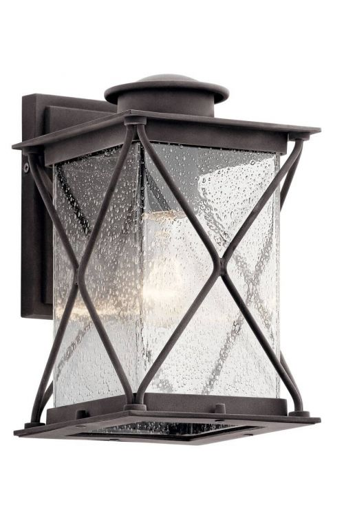Outdoor Wall Sconce in Black