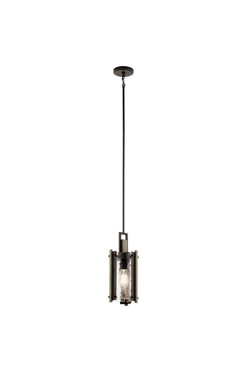 Kichler 43898OZ Aberdeen 1 Light Mini Pendant in Olde Bronze