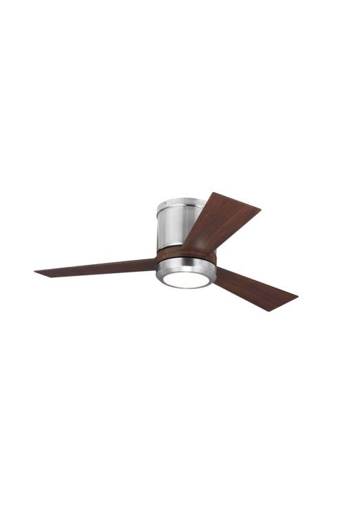 Monte Carlo 3CLYR42BSD Clarity II 42 Inch Ceiling Fan In Brushed Steel