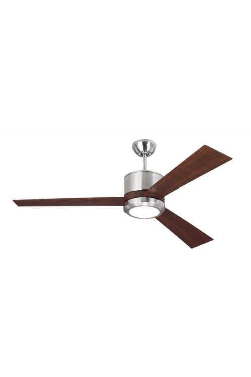 Monte Carlo 3VNR52BSD Vision 52 Inch Ceiling Fan In Brushed Steel