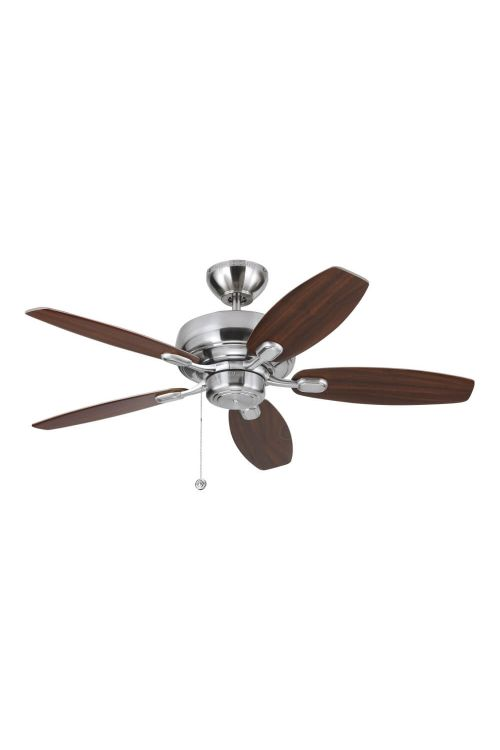 Monte Carlo 5CQM44BS 44 Inch Centro Max II Ceiling Fans In Brushed Steel
