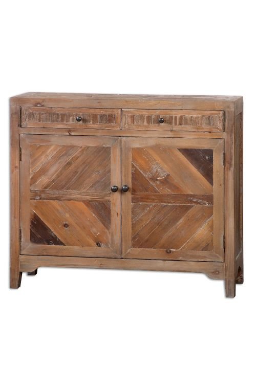 Uttermost 24415 Hesperos Reclaimed Wood Console Cabinet